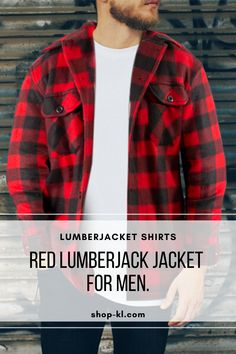 Looking for a versatile Lumber Jacket? Look no more! This Men´s plaid jacket is useful for everyday activities Our lumber jacket is great for chilled nights with the inner layer of fleece material, making it the ultimate buffalo jacket. Plaid Jacket, Shirt Jacket, Buffalo Jacket, Everyday Activities, Two By Two, Mens Fashion, Clothing, How To Wear, Jackets