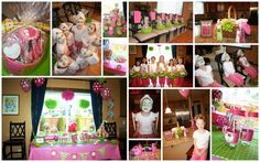 #cute girls spa party