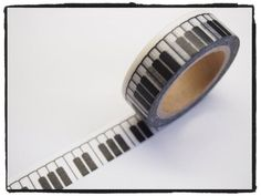 Add a little bit of piano decor to anything with piano keys washi tape! - Etsy
