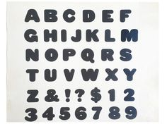 """For $125: """"Blimp Alphabet and Numbers 1,"""" 1974, working Photostat, 20 x 11 in., signed, plus a copy of """"At War with War."""""""