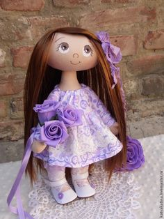 "Куколка ""Сиренька"". Handmade."