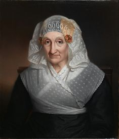 Jan Adam Kruseman (1804-1862) — Portrait of Woman in Headdress and Traditional Jewelery Netherlands (1226×1432)