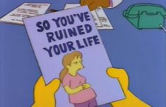 every time i see a pregnant lady i think of this brochure