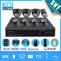 (467.09$)  Watch now  - 700TVL 8 CH HDMI 1080P DVR NVR kit 8pcs dome indoor CCTV Home Surveillance Security Cameras System 8ch 1tb hdd hard drive SK-128