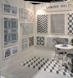 Sabine Hill | cement tiles