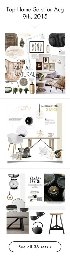 """""""Top Home Sets for Aug 9th, 2015"""" by polyvore ❤ liked on Polyvore featuring interior, interiors, interior design, home, home decor, interior decorating, Leucos, West Elm, Lane Venture and CB2"""