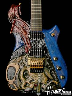 HEMBRY GUITARS made in the usa