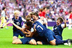 US women win third straight soccer gold!
