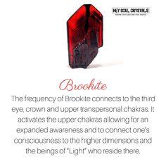 ∆ Brookite... Brookite Crystal Meaning