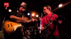 Manu Lanvin et Neal Black - Jam dans le Blues Café Live [inédit]