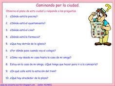 Me encanta escribir en español: la ciudad