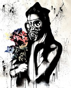 Paintings I Love, Original Paintings, Original Art, Acrylic Paintings, Spray Paint On Canvas, Acrylic Spray, Woman Painting, Street Artists, Graffiti Art