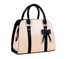 Ladies Candy Color Bowknot Shoulder Bag Cross-body