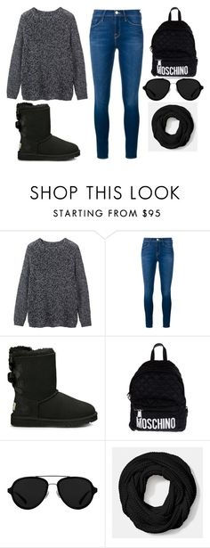 """""""Winter warm"""" by maegenpointer ❤ liked on Polyvore featuring Toast, Frame Denim, UGG Australia, Moschino, 3.1 Phillip Lim and Coach"""