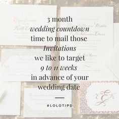 The creativity that goes on behind the scenes of wedding invitations is incredibly intricate and complex. I love this process because it is the first taste of the night your guests experience. Don't be afraid to put your personal touches into the design.