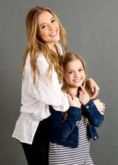 The famous Stella sisters, Lennon and Maisy, from ABC's :Nashville are our FACES of the South on www.StyleBlueprint.com