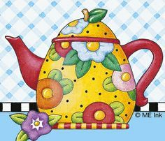 Mary Engelbreit teapot - Google Search