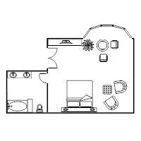 Bilderesultat for bedroom blueprint