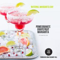 Pomegranate Grapefruit Margarita by @meggan13  ~ on FoodBlogs.com @FoodBlogs