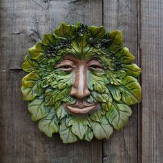 Fig Green Man Plaque
