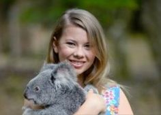 Bindi Irwin 2014 age 16 she is awsome.