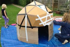 (30) Geodesic Dome - Craft Attack House - DIY