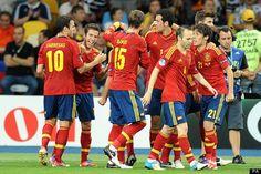 spain's soccer team