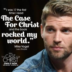 Based on bestselling true story, The Case For Christ is for everyone who has ever pondered the existence of God. Christian Movies, Christian Women, Case For Christ, Light Of The World, Trust Me, Faith Quotes, Holy Spirit, My World, True Stories