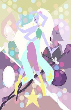 Steven Universe - Opal, Pearl, Amethyst