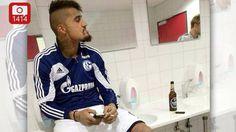 Kevin-Prince Boateng: Was macht er hier mit Zigarette und Bier? - Bundesliga - Bild.de