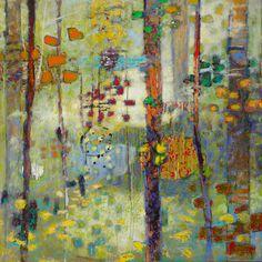Hunter Kirkland Contemporary - Rick Stevens Oil Painting on Linen