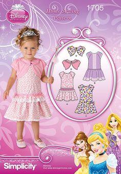 Toddlers' Dress Pattern Little Girls' Dropped Waist by blue510