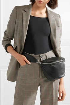 Alexander Wang   Attica Messenger leather belt #bag