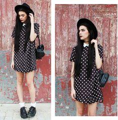 Holynights Claudia - Front Row Shop Dress - Polka dots