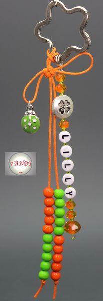 Rechenkette mit Name Nr. 20 von TANBI-kids auf DaWanda.com