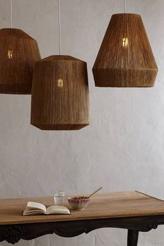 Top Directed Ceiling Pendant Lights: Le Lampe Gras, Unfold, Tom Dixon & 6 More — Maxwell's Daily Find Interior Lighting, Home Lighting, Lighting Design, Pendant Lighting, Ceiling Pendant, Lighting Ideas, Jar Chandelier, Table Lighting, Pendant Lamps