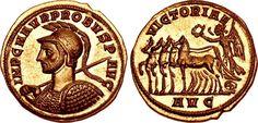 AV Aureus ND Serdica Mint (280AD) 5th emission Emperor Probus 276-82AD