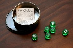 Inexpensive Version of Farkle - instead of buying!