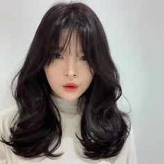 Korean Wavy Hair, Asian Hair, Permed Hairstyles, Easy Hairstyles, Girl Hairstyles, Medium Hair Cuts, Medium Hair Styles, Short Hair Styles, Hair Inspo