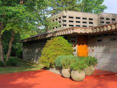Tonkens House. 1953. Cincinnati, Ohio. Usonian Style. Frank Lloyd Wright
