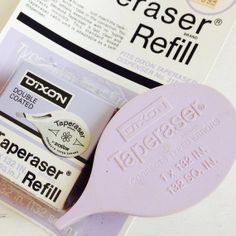 Vintage DIXON Taperaser Dispenser and Refill . Rare Find by joonE, $25.00