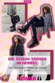 Die Schuh-Trends im Herbst:: Und sie passen perfekt zur Skinny Jeans Citizens Of Humanity, Glamouröse Outfits, Oversized Mantel, Jeans Trend, Ankle Boots, Zara, Cooler Look, Jeans Style, Sneaker