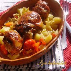 Ízes kalandok: Cserépben sült zöldséges, fehérboros csirke