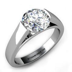Sachi Divine - GIA Solitaire Diamond Ring http://www.buzzblend.com