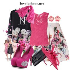 """""""Spring with lovely shoes"""" by cavell on Polyvore"""
