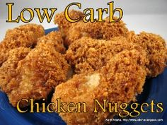 Low Carb Chicken Nuggets w/video