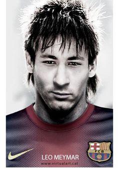 Globos: Espanhóis inventam a mescla de Messi e Neymar: Leo Meymar; veja