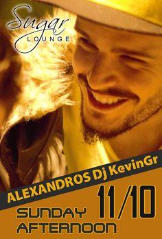 Sugar Lounge - ALEXANDROS Dj KevinGr 11-10-2015 | Verialife
