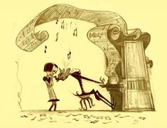Coraline concept art by Shannon Tindle