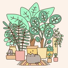 "48.8k Likes, 284 Comments - Pusheen (@pusheen) on Instagram: ""Happy #EarthDay! How will you celebrate our planet today?"""